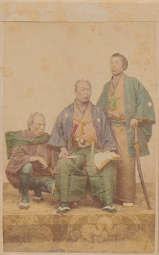 Shimooka Renjō, 'Shōka musume (Girl/s of a Merchant's House)', c.1863-70.